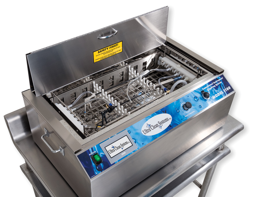 Ultra Clean Systems Model 1100 ultrasonic cleaning system with instruments