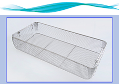 Wire mesh hospital tray