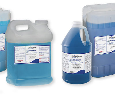 Sanizyme and Sterizyme Detergents