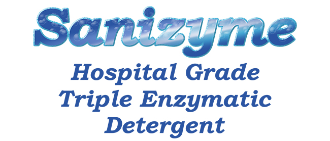 Sanizyme Triple Enzymatic Detergent Ultra Clean Systems